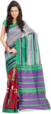 Sanskar Fashion Printed Bhagalpuri Chanderi Sari