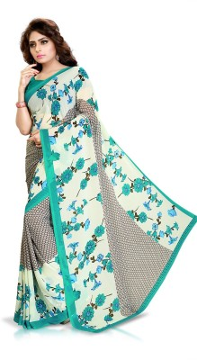 Go4Fashion Printed Daily Wear Georgette Sari