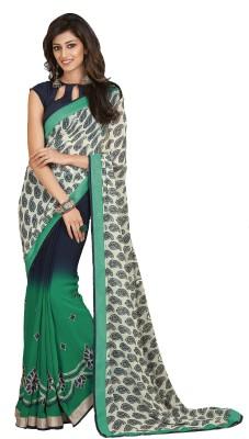 Fashion Forever Printed, Paisley Fashion Georgette Sari