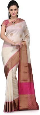 Fabroop Woven Banarasi Handloom Silk Sari