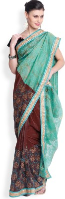 Utsava Embriodered Bollywood Tissue Sari