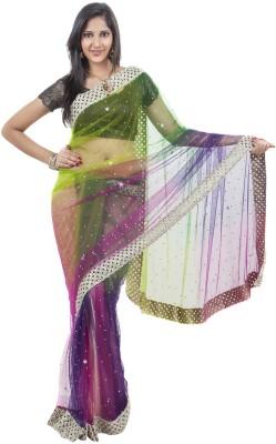 Celebez Embriodered Fashion Handloom Net Sari