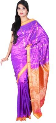 Sri Radha Krishna Textiles Floral Print Fashion Silk Sari