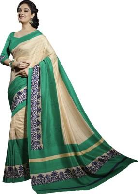 Vipul Embriodered Fashion Art Silk Sari