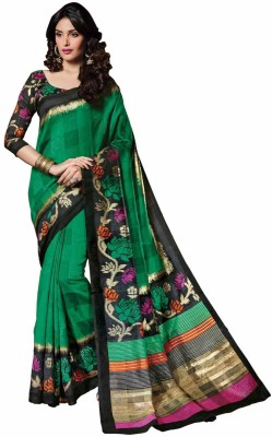 Vipul Embellished Bollywood Art Silk Sari