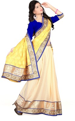 Shiddhi Vinayak Creation Embriodered Bollywood Jacquard Sari