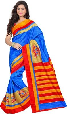 Sonal Trendz Self Design Daily Wear Banarasi Silk Sari