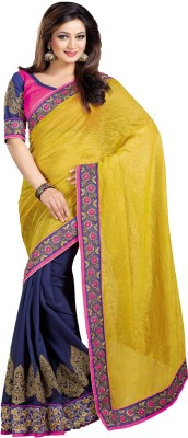 Indian E Fashion Embriodered Bollywood Georgette, Net Sari