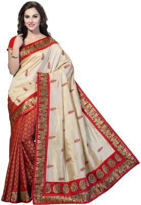 Vishnupriya Fabs Printed Bhagalpuri Silk Sari