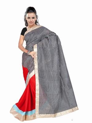 Dancing Girl Solid Bollywood Silk Sari