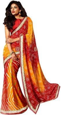 Desi Look Embriodered Fashion Georgette Sari