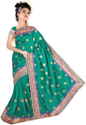 Vibes Solid Fashion Georgette Sari