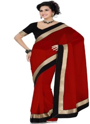Radhecreation Self Design Fashion Handloom Chiffon Sari