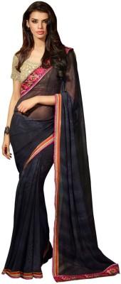 Saara Embriodered Fashion Georgette Sari