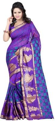 Indian Pahnaav Embellished Bollywood Handloom Banarasi Silk Sari