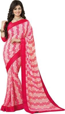 Pakiza Design Printed Leheria Georgette Sari