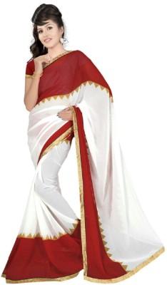 Nilesh Fab Printed Bhagalpuri Pure Chiffon Sari