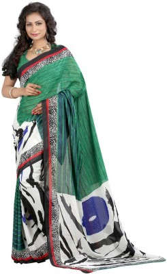 Disneysell Printed Bollywood Art Silk Sari