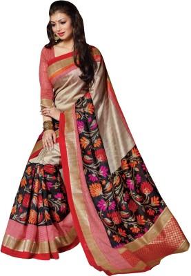 Amayra Fashions Printed Fashion Art Silk Sari