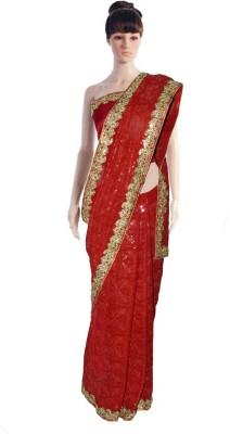 Serwans Embriodered Fashion Georgette Sari