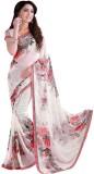 Active Printed Fashion Georgette Saree (...