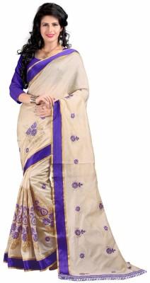 West Turn Self Design Bhagalpuri Handloom Banarasi Silk Sari