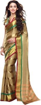 Rajanigandha Creation Self Design Fashion Handloom Cotton Sari