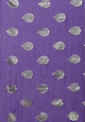 SunShine Self Design Banarasi Georgette Sari