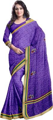 Komal Sarees Printed, Self Design, Embriodered Bollywood Georgette, Chiffon Sari