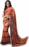 JK Apparels Printed Fashion Georgette Sa...