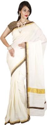 Right Shape Embellished Fashion Handloom Cotton Sari