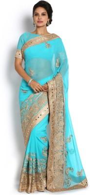 Soch Embriodered Fashion Chiffon Sari
