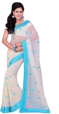 Deepika Saree Embriodered Bollywood Georgette Sari