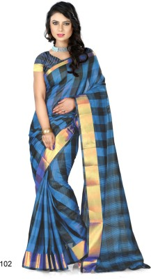 Vpc Self Design Banarasi Art Silk Sari
