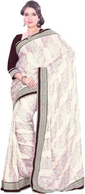 Suchi Fashion Plain Fashion Chiffon Sari