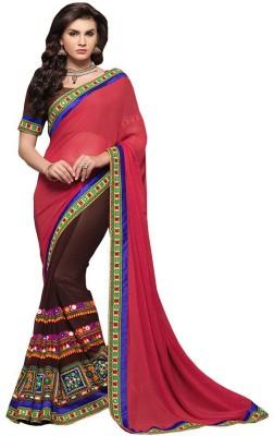 ambey shree trendz Paisley Banarasi Synthetic Sari