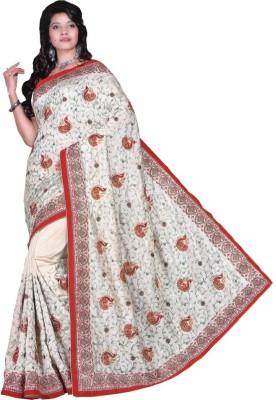 Gulmohar Boutique Self Design Fashion Dupion Silk Sari