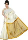 BrindavanSilks Embroidered Fashion Cotto...