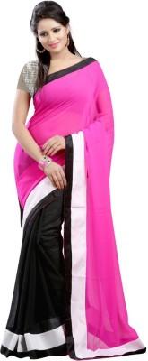 Bapasitaram Fashion Embriodered Bollywood Georgette Sari