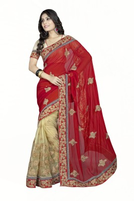 Reena Creation Embriodered Fashion Georgette Sari