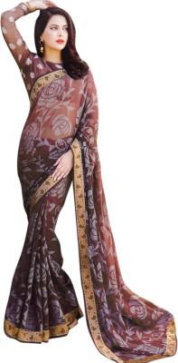Miraan Printed Fashion Georgette Sari