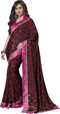 Styleworld Printed Fashion Jacquard Sari
