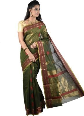 PSK Silks Self Design Fashion Kota Cotton Sari