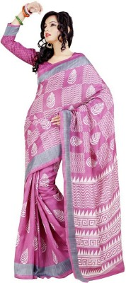 Chirmangal Printed Fashion Jute Sari
