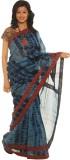 Indo Mood Printed Maheshwari Silk Saree ...