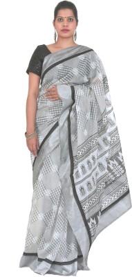 PurpleYou Embriodered Fashion Silk Sari