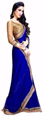 We Care Creation Embriodered Bollywood Chiffon Sari