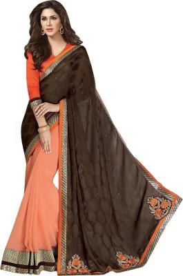 Vandvshop Embriodered Fashion Handloom Georgette Sari