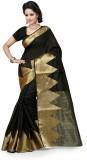 Style U Solid Kanjivaram Cotton Saree (B...