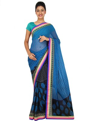 Yomeeto Printed Daily Wear Georgette Sari
